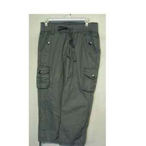 Freestyle Revolution Cargo Capri Pants Casual M EC